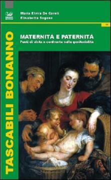 Premioquesti.it Maternità e paternità. Punti di vista a confronto sulla genitorialità Image