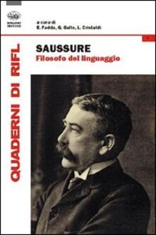 Secchiarapita.it Saussure filosofo del linguaggio Image
