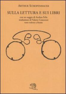 Camfeed.it Sulla lettura e sui libri. Testo tedesco a fronte Image
