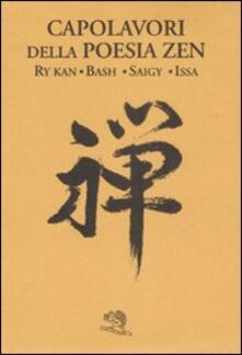 Daddyswing.es Capolavori della poesia zen. Testo giapponese in caratteri latini a fronte Image