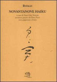 Filippodegasperi.it Novantanove haiku. Testo giapponese a fronte Image