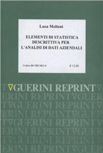 Elementi di statistica descrittiva per l'analisi dei dati aziendali