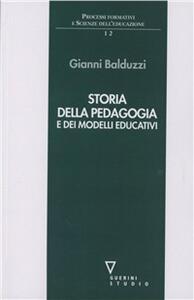 Storia della pedagogia e dei modelli educativi