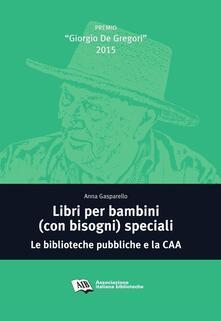 Amatigota.it Libri per bambini (con bisogni) speciali. Le biblioteche pubbliche e la CAA Image