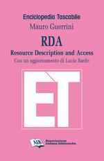 RDA. Resource Description and Access