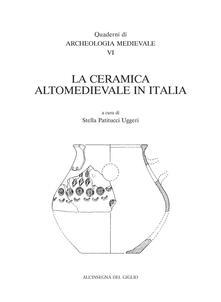 La ceramica altomedievale in Italia - copertina