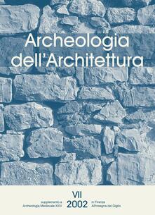 Voluntariadobaleares2014.es Archeologia dell'architettura (2002). Vol. 7 Image