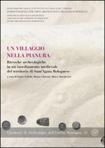 Un villaggio nella pianura. Ricerche archeologiche in un insediamento medievale del territorio di Sant'Agata Bolognese