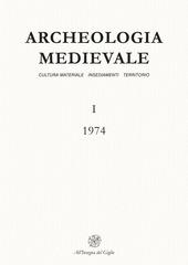 Archeologia medievale (1974). Vol. 1