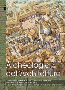 Winniearcher.com Archeologia dell'architettura (2017). Vol. 22 Image