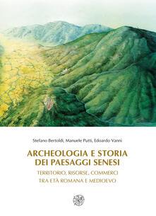 Criticalwinenotav.it Archeologia e storia dei paesaggi senesi. Territorio, risorse, commerci tra età romana e medioevo Image