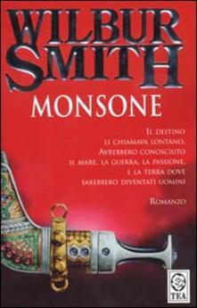 Monsone - Wilbur Smith - copertina