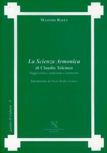 La scienza armonica di Claudio Tolomeo