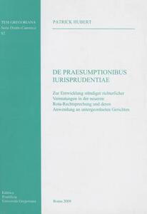 De praesumptionibus iurisprudentiae