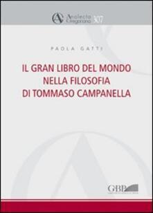Osteriacasadimare.it Il gran libro del mondo nella filosofia di Tommaso Campanella Image