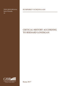 Critical history according to Bernard Lonergan