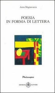 Poesia in forma di lettera