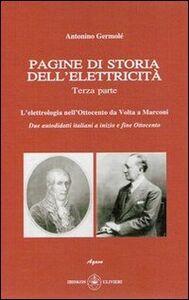 Pagine di storia dell'elettricità. Vol. 3
