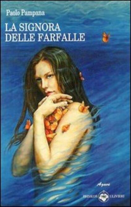 La signora delle farfalle - Paolo Pampana - copertina