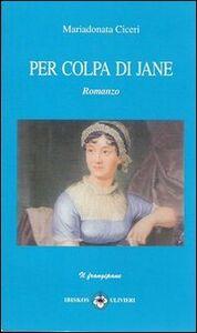 Pe colpa di Jane