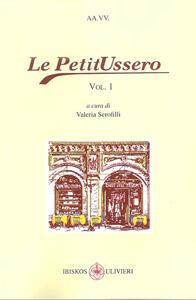 Le PetitUssero. Vol. 1 - copertina