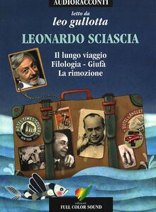 Il lungo viaggio e altri racconti letto da Leo Gullotta. Audiolibro. CD Audio