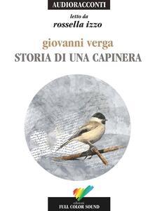 Listadelpopolo.it Storia di una capinera letto da Rossella Izzo. Audiolibro. CD Audio Image