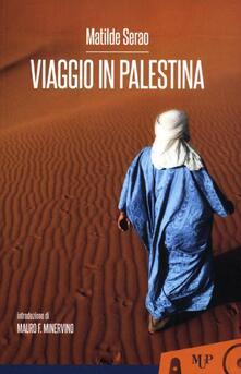 Viaggio in Palestina - Matilde Serao - copertina