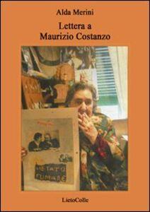 Lettera a Maurizio Costanzo