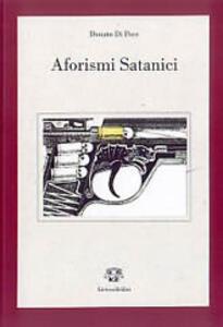 Aforismi satanici (manuale di sopravvivenza al giubileo del 2000)