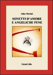 Sonetti d'amore e angeliche pene - Alda Merini - copertina
