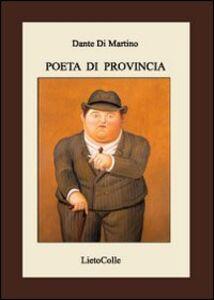 Poeta di provincia