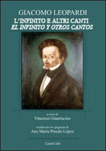 Giacomo Leopardi. L'infinito e altri canti-El infinito y otro cantos