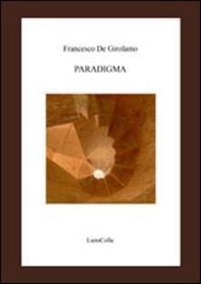 Paradigma - Francesco De Girolamo - copertina