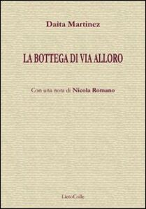 Libro La bottega di via Alloro Daìta Martinez