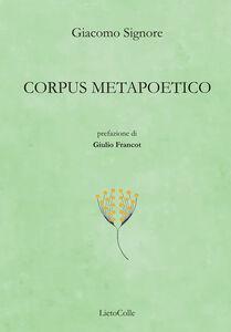 Corpus metapoetico