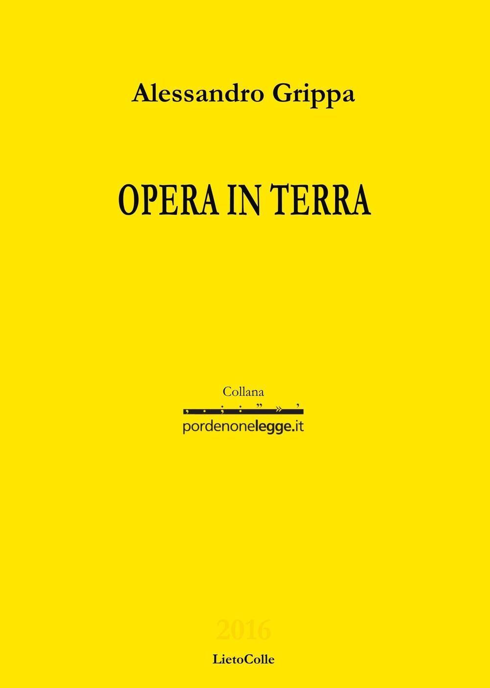 Opera in terra