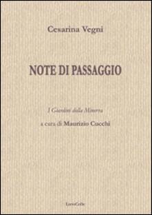 Note di passaggio - Cesarina Vegni - copertina