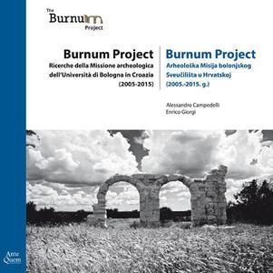 Burnum Project. Ricerche della missione archeologica dell'università di Bologna in Croazia (2005-2015)