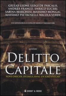 Delitto capitale - copertina