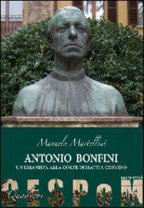 Antonio Bonfini. Un umanista alla corte di Mattia Corvino