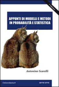 Appunti di modelli e metodi in probabilità e statistica