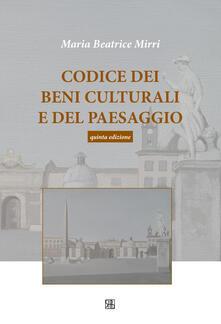 Steamcon.it Codice dei beni culturali e del paesaggio Image