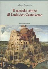 Il metodo critico di Ludovico Castevetro
