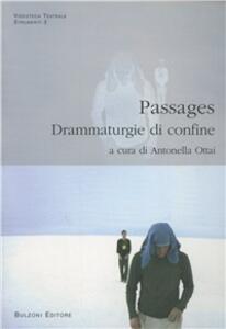 Passages. Drammaturgie di confine - copertina