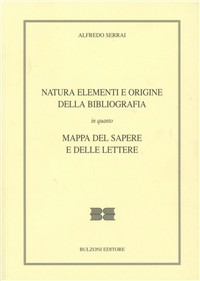 Natura, elementi e origine della bibliografia