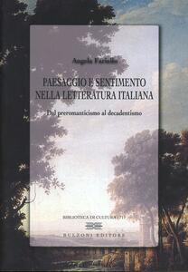 Paesaggio e sentimento nella letteratura italiana