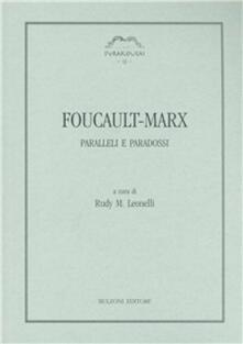 Foucault-Marx. Paralleli e paradossi - copertina