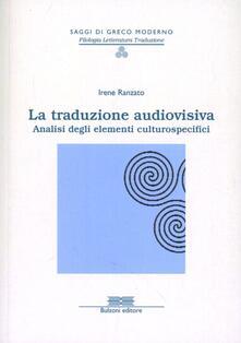 Nicocaradonna.it La traduzione audiovisiva. Analisi degli elementi culturospecifici Image