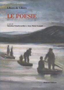 Le poesie - Libero De Libero - copertina